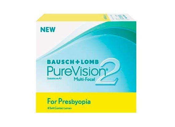 PureVision 2 HD Multifocal (6 lentilles)