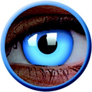 UV Glow Blue (Annuelles) (2 lentilles)