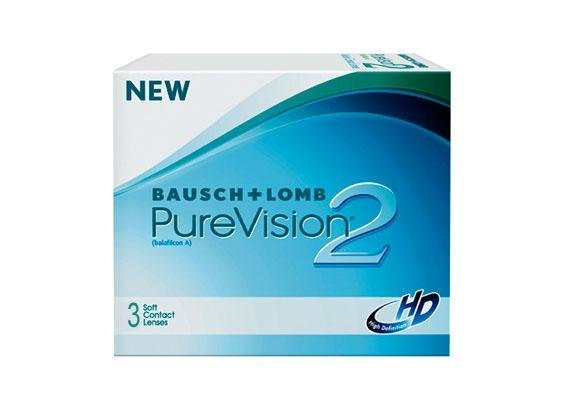 PureVision 2 HD (3 lentilles)