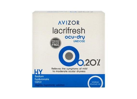 Avizor lacrifresh ocu-dry 0,2% (20x 0,4ml)