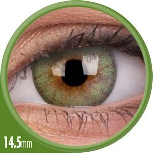Cheerful Fresh Green (1-Mois) (2 lentilles)