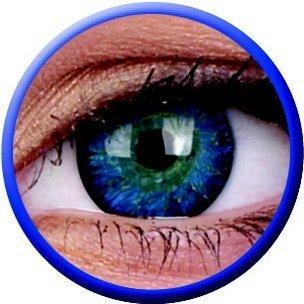 Glamour Blue (3-Mois) (2 lentilles)