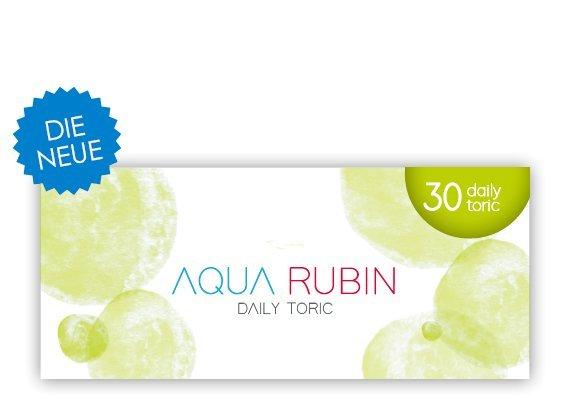 Aqua Rubin Toric - Journalières (30 lentilles)