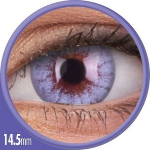 Cheerful Crystal Blue (1-Mois) (2 lentilles)